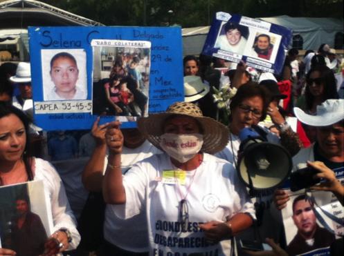 Mujeres en grito por la justicia / Foto: Amara Enríquez