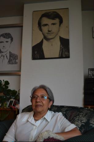 Entrevista con Sara en su casa, 2013/ Foto: Gabriela Godínez